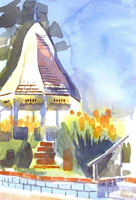 Arcadia Valley Painting - Gazebo On The City Square by Kip DeVore