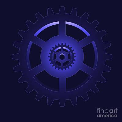 Gear - Cog Wheel Print by Michal Boubin