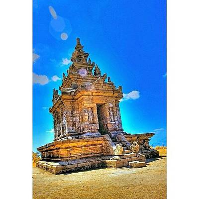 Gedong Songo (indonesian: Candi Gedong Print by Tommy Tjahjono