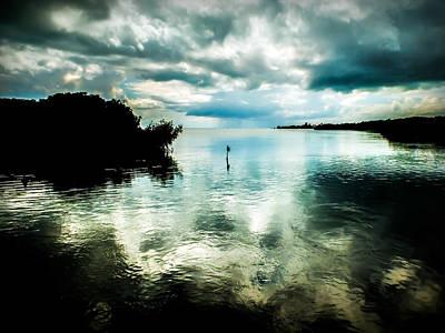 Grey Clouds Photograph - Geiger Key by Karen Wiles