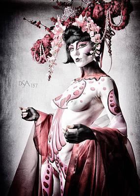 Body Paint Photograph - Geisha II by David April
