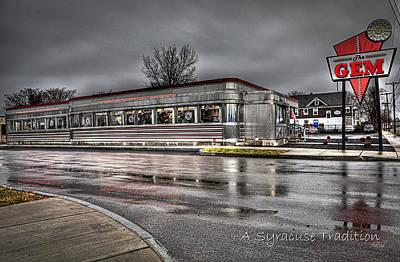 Syracuse Photograph - Gem A Syracuse Tradition by Everet Regal