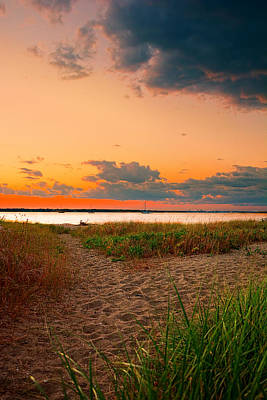 Green And Brown Photograph - Gem On The Bay by Lourry Legarde