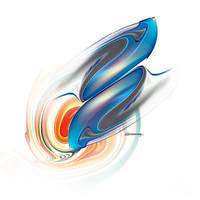 Zodiac Digital Art - Gemini by Christian Simonian