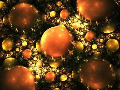 Jewels Digital Art - Gems by Anastasiya Malakhova