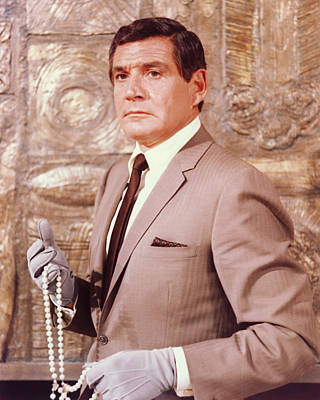 Gene Barry In The Name Of The Game Print by Silver Screen