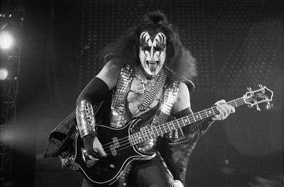 Gene Simmons Print by Timothy Bischoff