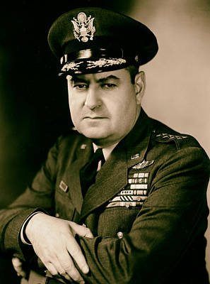 General Curtis Lemay 1950s Print by Mountain Dreams