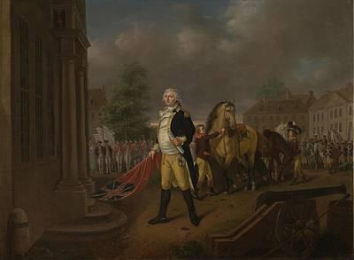Philadelphia Painting - General Humphreys Delivering by Nicolas Louis Albert Delerive