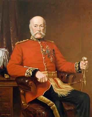 General Joseph Edwin Thackwell Cb 1894 Print by J. Sydney Willis Hodges