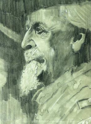 The General Lee Drawing - General Lee by Luis  Navarro