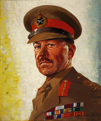 General Concept Painting - General Sir Howard Alexander by Mountain Dreams