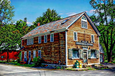 Vermont Country Store Photograph - General Store by Anthony Dezenzio