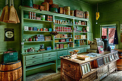 General Store Photograph - General Store by Inge Johnsson