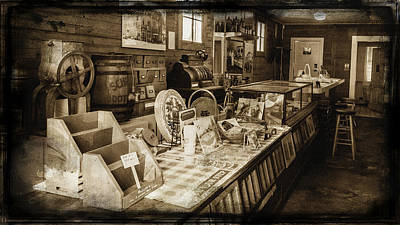 General Store Print by Lisa and Norman  Hall