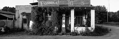 Coca Cola Sign Photograph - General Store, Pomona, Illinois, Usa by Panoramic Images
