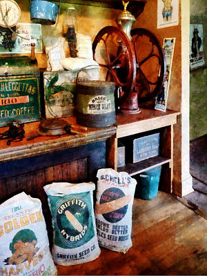 Coffee Photograph - General Store by Susan Savad