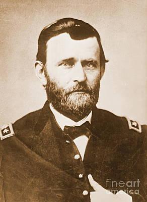 General Ulysses Grant C1865 Print by Padre Art