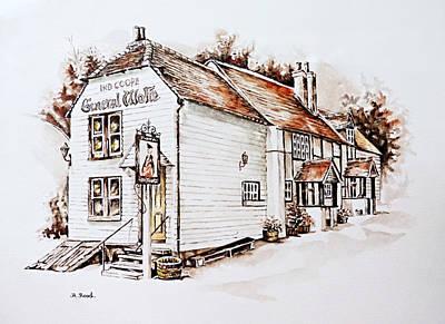 General Wolfe Pub Original by Andrew Read