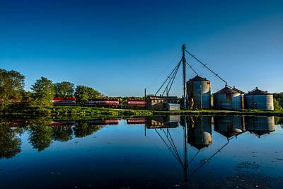 Feed Mill Photograph - Genesee Mill by Randy Scherkenbach