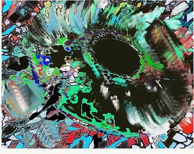 Genesis Of The Eye Print by Ricardo Mester