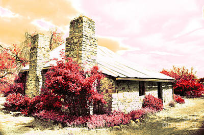 Gentle Farm House Print by Phill Petrovic