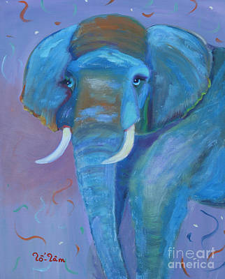 Poachers Painting - Gentle Giant by To-Tam Gerwe