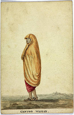 Gentoo Woman Print by British Library