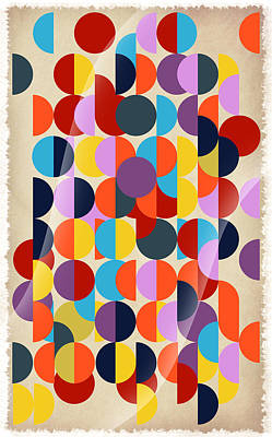 Geo Geo  Print by Mark Ashkenazi