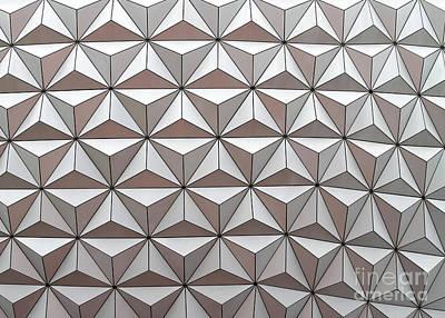 Op Art Photograph - Geodesic by Sabrina L Ryan