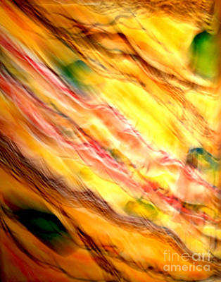 Expressionist Photograph - Geological Formations - Abstract by Cristina Stefan