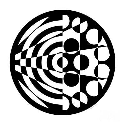 Geomentric Circle 1 Original by Amy Kirkpatrick