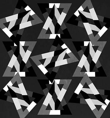 Geometric 12 Print by Mark Ashkenazi