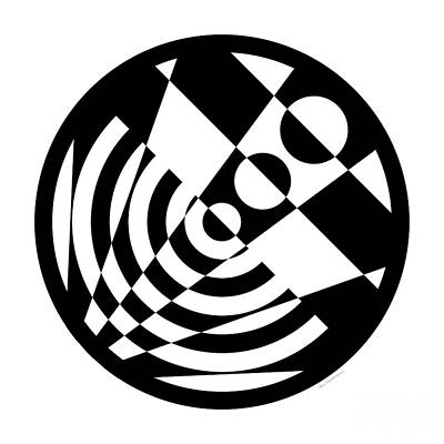 Geometric Circle 5 Original by Amy Kirkpatrick