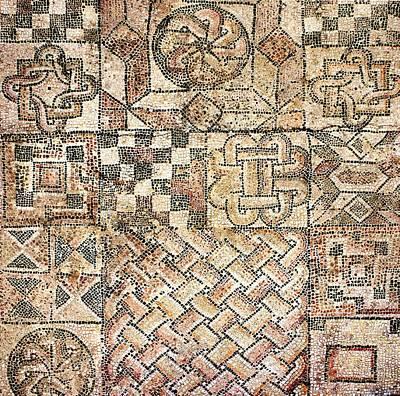 Bible Photograph - Geometric Mosaic Patterns by Sheila Terry