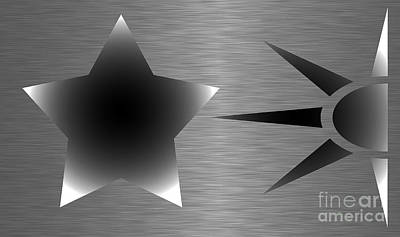 Geometric Shape Abstract 58 Print by Tina M Wenger