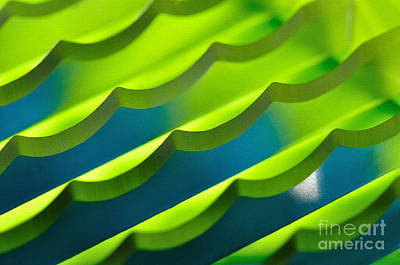 Geometrical Colors And Shapes 3 Print by Kaye Menner