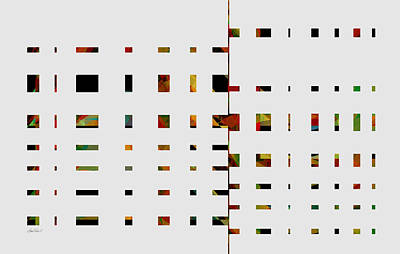 Geometrics -abstract -  Art Print by Ann Powell