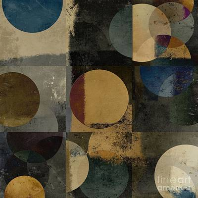 Abstract Wall Art Digital Art - Geomix 01 - 111bt2a by Variance Collections