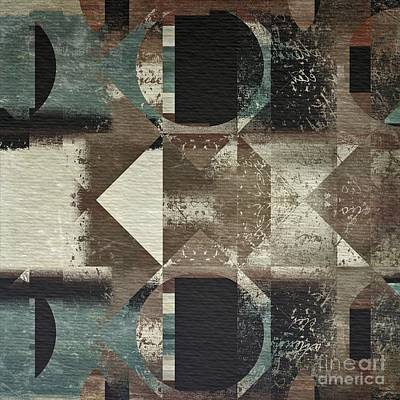 Abstrait Digital Art - Geomix 04 - 03c77t27a by Variance Collections