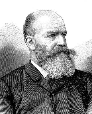 Georg Ebers Print by Bildagentur-online/tschanz