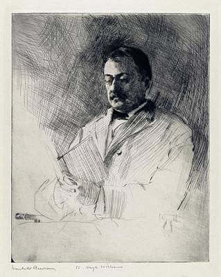 George Agassiz Print by Library Of Congress