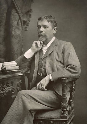 Cartoonist Photograph - George Du Maurier by Stanislaus Walery