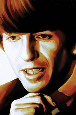 Harrison Mixed Media - George Harrison Artwork by Sheraz A