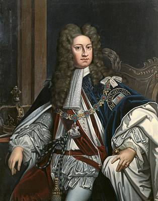 George I 1660-1727. King Of Great Print by Everett