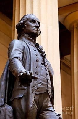 Inauguration Photograph - George Washington by Brian Jannsen