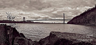 Nj Photograph - George Washington Bridge by Mark Miller