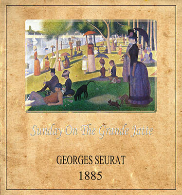 Georges Seurat 2 Print by Andrew Fare