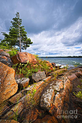 Parry Sound Photograph - Georgian Bay by Elena Elisseeva