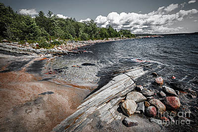 Parry Sound Photograph - Georgian Bay V by Elena Elisseeva